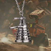 2014 Hot Selling Doctor Who Dalek Robot Pendant & Necklace For Men And Women Fashion Jewelry~DY061