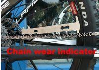 Bicycle chain wear indicator7-10 speed chains bicycle tools chrome vanadium bike riding for KMC bikehandtool chain checker tool