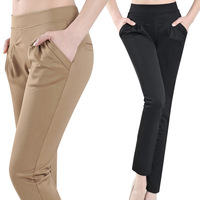 2014 summer harem pants female trousers pencil pants plus size clothing female casual pants female trousers