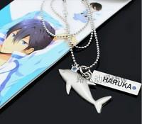 New Free! Necklace pendant Anime necklace Haruka Nanase Makoto Tachibana Nagisa Hazuki Gou Matsuoka COS Necklace Free Shipping