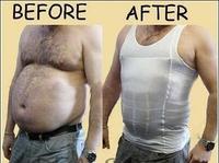 Bodysuit men 2014 TV Good  Slimming Vest Shirt Fatty Undershirt Corset Body Shaper  Weskit Undershirt Free shipping