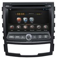 Cortex A9 dual-core + Android 4.2 Head unit Car DVD Player GPS Radio Navigation For  Ssangyong  Korando 2010-2013