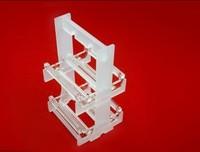 quartz glass boat/boats/silicon wafer quartz glass boats/factory customized kinds of clear quartz glass instrument