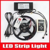 Digital LED Strip ws2812b Strip Light RGB 5050 SMD 144 Pixel/m Waterproof IP67 5V DC + 133 RF Controller + 8A Power Supply