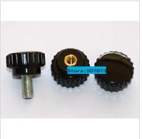 Wholesale 10* Straight screw screen printing screen printing handle plastic  screw bakelite handle screw screw M4  free shipping