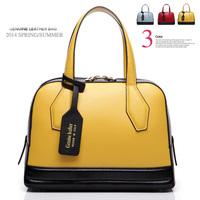 New 2014 Vintage bag Women Leather Handbags Brand genuine leather Totes Shoulder Bag women messenger bags brand women handbag