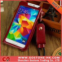 Newest Ultra-thin High Quality PU Material Protective Case For Galaxy S5 Cover Case Dirt-resistant Free Shipping Supported