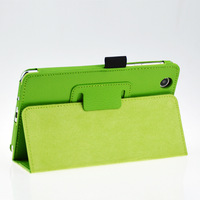 Free Shipping 7 inch Original Stand Leather PU Case Cover for Lenovo S5000 Tablet+screen stylus pen