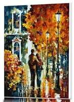 2014 New Arrival Frameless DIY painting by numbers acrylic painting unqiue gift home decor 008 zhixin lovers