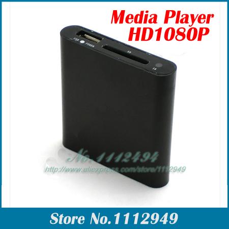 Good Mini Media Player Mini 1080P HDMI SD/USB HD Media Player MKV/RM/RMVB #K7(China (Mainland))