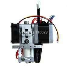 Free shipping JIETAI 3mm filament  0.3mm nozzle Assembled Extruder GT6  Nema17 hotend Prusa Mendel for 3D printer