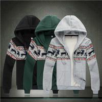 New 2014 spring fashion hoodies men sportswear Karean style man hoody black hoodie plus size 6XL brand mens tracksuit sweatshirt