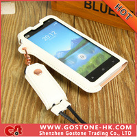 In Stock Ultra-thin High Quality PU Material Protective Case For xiaomi mi2 Cover Case Dirt-resistant Free Shipping
