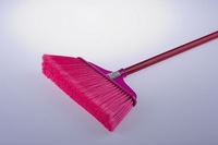 Soft dust broom with long stick free shipping