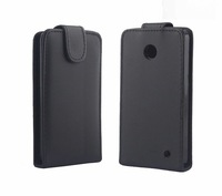 10PCS/LOT&Free shipping New Shine leather case for NOKIA LUMIA 630 ,Pouch case