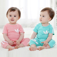 Children's clothing 2014 Summer The baby Cartoon Korean version Suit