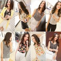 Fashion Women S&Z 2014 Plus Size XXXL16 colors Women clothing sleeveless Loose Blouses tank Casual Tops for women SZ003