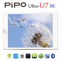 """7.9"""" Pipo U7 3G WCDMA Tablet Phone MTK8382 Quad Core 1.2Ghz 1GB RAM 16GB ROM GPS Bluetooth Dual Camera With AF Ultra U7 1024X768"""