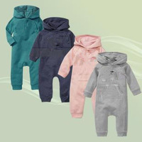 New arrive baby suit cute boy/girl hooded jumpsuit Spring & Autumn infant rompers