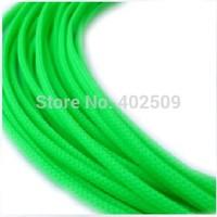 Wholesale Green 2mm 656F/lot expandable PET braiding expandable Mesh