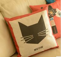 Cartoon pillow factory wholesale trade, household linen pillow cushions nap pillow cushion against