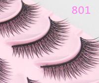Free Shipping Crisscross False Eyelashes Semi-Hand Made Japan Makeup 801