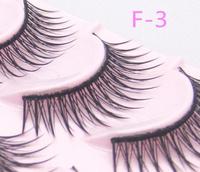 Fashion Crisscross False Eyelashes Full Strip Lashes  Makeup F-3
