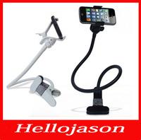 2356 free shipping Multifunctional Car Holder Desktop Lazy holder Bed  bracket mobile phone Stand For iphone 4 5 Samsung