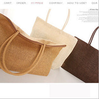 Free shipping Summer New 2014 Fashion Japan and Korean Style Women Handbags Knitted Beach bag Straw Shoulder bags Totes