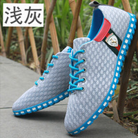Sale ! New Men's Sneakers Summer Zapato Casual breathable mesh Sneakers Running Sports shoes for men Free Shipping