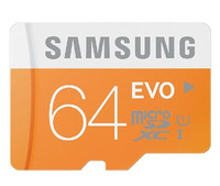 2014 New Original Genuine Samsung C10  EVO  Micro sd/sdhc  card /TF 64GB microSD Card max read speed to 48mb/s Free shipping