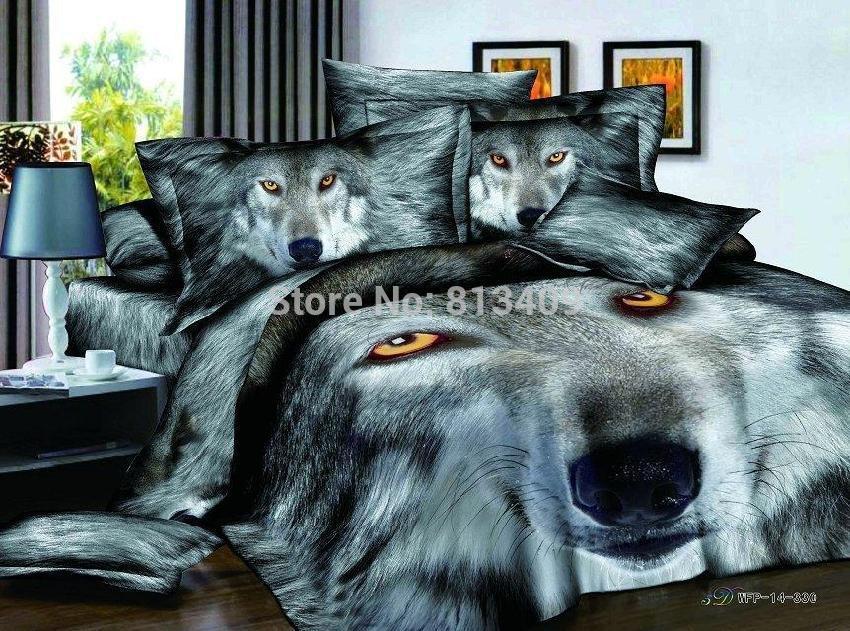 Achetez en gros le loup couette en ligne des grossistes - Housse de couette loup ...