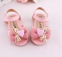 Free Shipping 2014 children princess toddler sandals