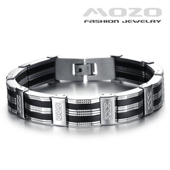 Оптовая продажа горячая распродажа новый 2015 мода ювелирные изделия черный силиконовый ...