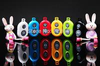 Wholesale 100 Pcs/Lot Universal Bluetooth Remote Shutter Camera Control Self-timer Shutter for iPhone Samsung Nexus Xiaomi Sony