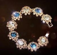2014 Retro Fashion Bohemia  Rhinestone Zircon Bracelet Statement bracelet
