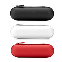 Wireless Bluetooth Pill Speaker Zipper Case, Leather Pouch Carry Bag Case for Audio Player Speaker Free Shipping