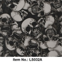 Item No.LS032A Water Transfer Printing Film of Skull Pattern