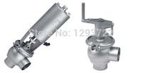 1''  dn25  ss304 ,Sanitary pneumatic shutoff valve  stainless  steel,Sanitary pneumatic globe valve