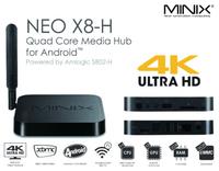MINIX NEO X8-H 4K Android TV Box Quad Core Amlogic S802-H 2GB 16GB XBMC Kitkat 4.4 Smart Mini PC Dolby DTS X8H +NEO M1 Air Mouse