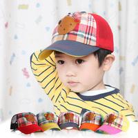 Hot 2014 Spring retail children's baseball cap hat  cowboy hat parent-child cap 5 color children cap unisex free shipping