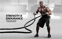 5cm x 12M battle training rope workouts Arm grip streng training rope endurance and strength work out rope