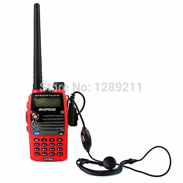 2 /baofeng Walkie Talkie 5ra 5w 128ch & Dtmf Vox A0888c UV-5RA baofeng uv 5ra 1 5 lcd 5w dual band 128 ch walkie talkie w 1 led flashlight blue
