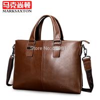 Special promotion!2014 New hot fan bag male handbag shoulder bag cowhide commercial briefcase messenger bag casual bag