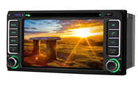 Car Head Unit For Toyota Tundra,2din 800Mhz CPU Car DVD Player styling,support DVR,Support Iphone 5 5s car audio radio Stereo
