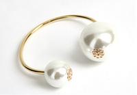 ( Min order is 10usd !) SJB532  Charm Open Pearl bracelets & bangles wholesale Free shipping