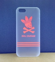 10pcs/lot Fashion Brand Noctilucent Hard Cover Back Case For iphone 4 4s  Hot