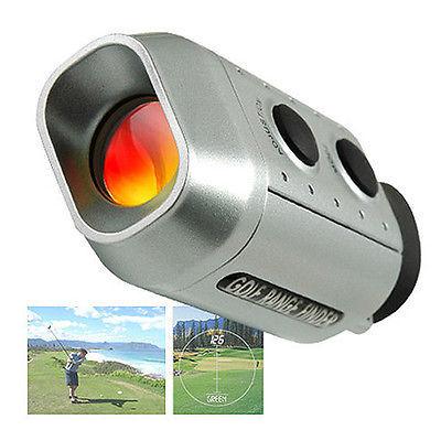 Digital 7X Optic Telescope Laser Sports Range Finder Golf Distance Measurement(China (Mainland))