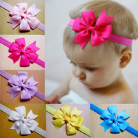 New Infant 24pcs Headbands for Photography props Beaded  Chiffon Flower Headband Butterfly Knot  hair accessories