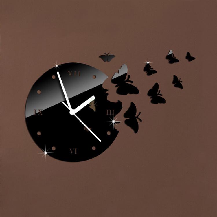 Achetez En Gros Miroir Horloge Murale En Ligne Des